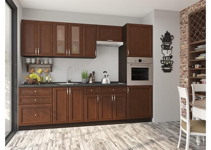 кухня шале-02 brown oak