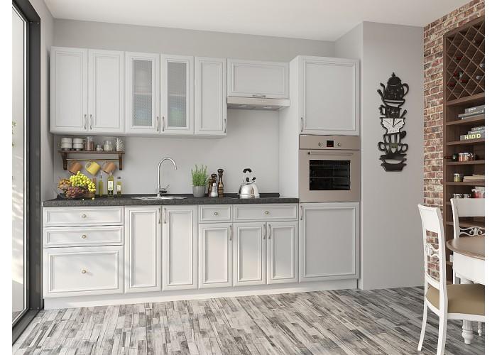 кухня шале-02 milk oak