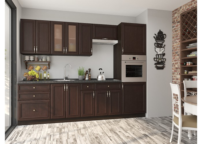 кухня шале-02 thermo oak