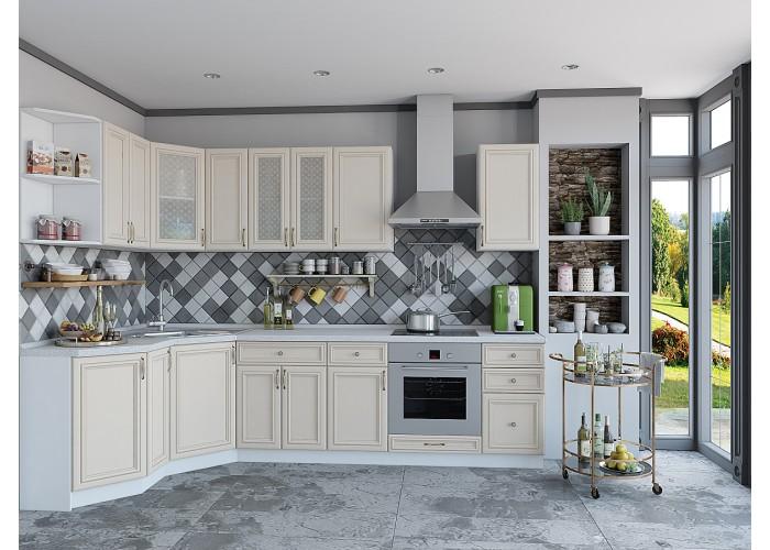 кухня шале-03 ivory